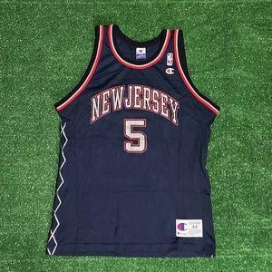 New Jersey Jason Kidd Jersey Sz Large